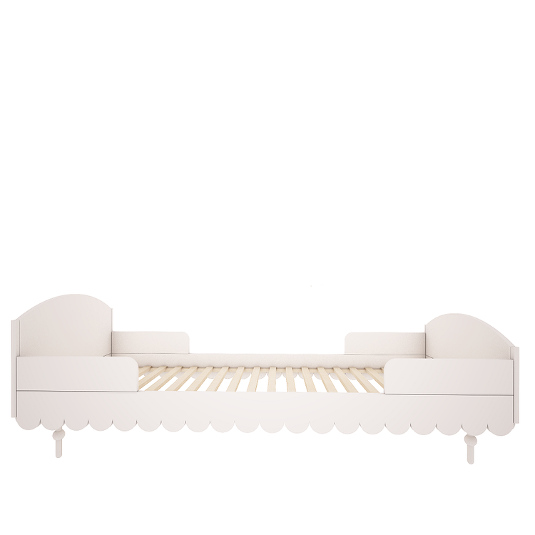 Woodluck, vit babushka säng 90x200 cm