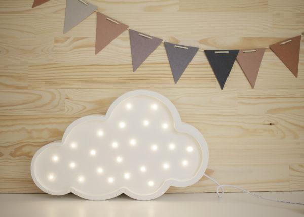 Nattlampa till barnrummet moln, Little Lights