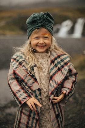 Looks by Luks turban/mössa, Organic sage green