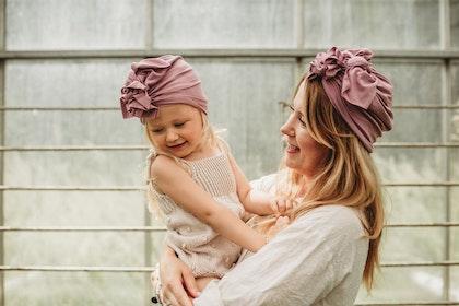 Looks by Luks turban/mössa, Bamboo Light think pink