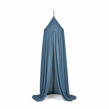 Liewood stormy blue sänghimmel med ljusslinga