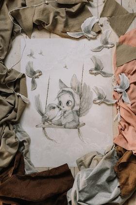 Mrs Mighetto, poster Mini Bird Master MBM