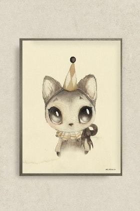 Mrs Mighetto, poster Dear Meow