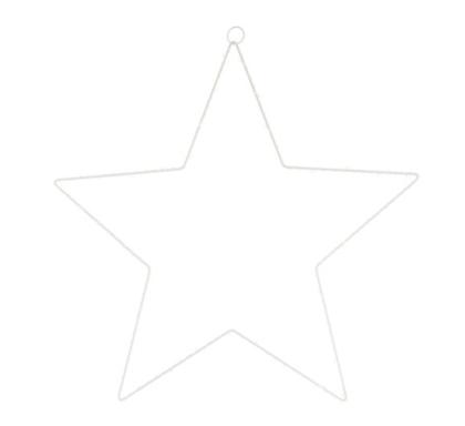 Ledlampa Stjärna vit