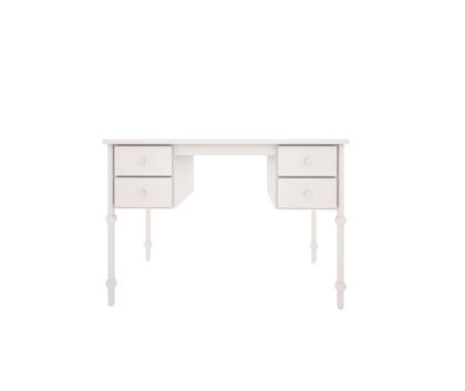 Babushka vit skrivbord till barnrummet
