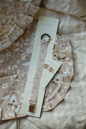 Mrs Mighetto, napphållare Birthday Bunny Pink