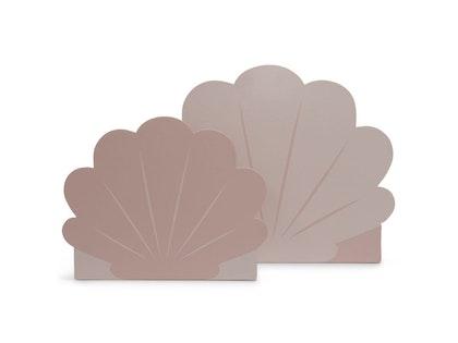 Jollein, förvaringslåda koffert 2-pack, snäcka pale pink