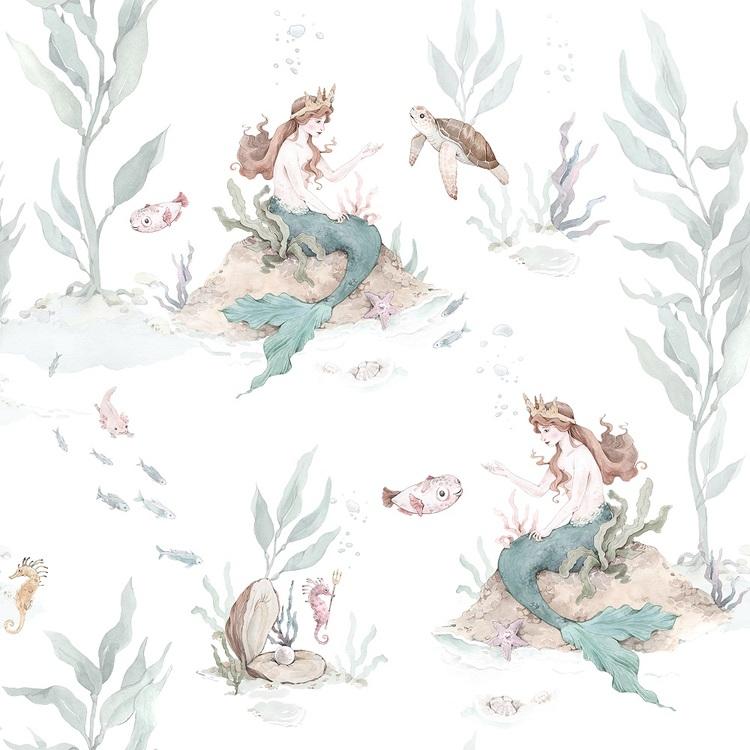 Dekorillo, tapet Mermaids
