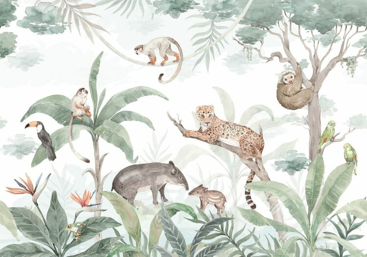 Dekorillo, tapet Amazon jungle