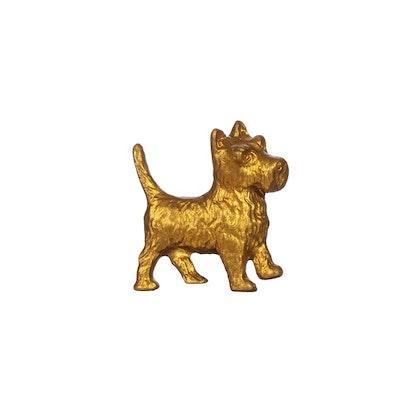 Sass & Belle, knopp guld terrier