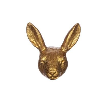 Sass & Belle, knopp guld kaninhuvud