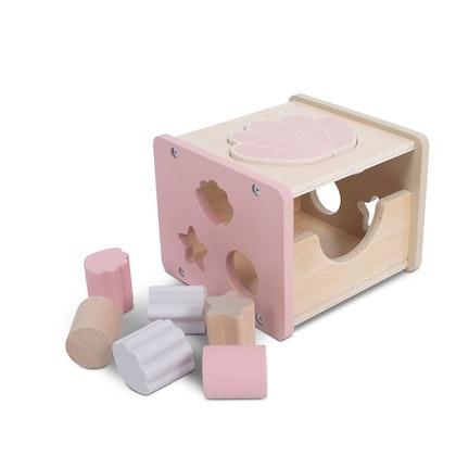Jollein sorteringslåda, snäcka rosa