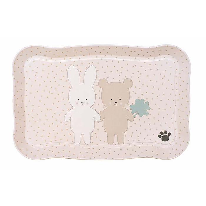 Jabadabado, teset i väska, Teddy & bunny