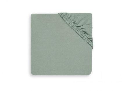 Jollein, dra-på-lakan spjälsäng 120x60, ash green