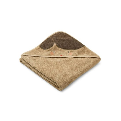 Liewood handuk med huva, Augusta Doll/oat