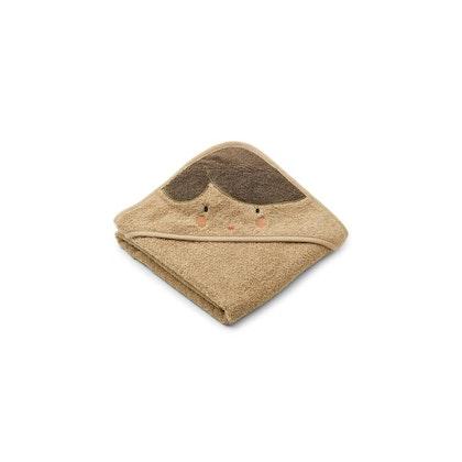 Liewood Albert doll/oat, handduk med huva för nyfödda