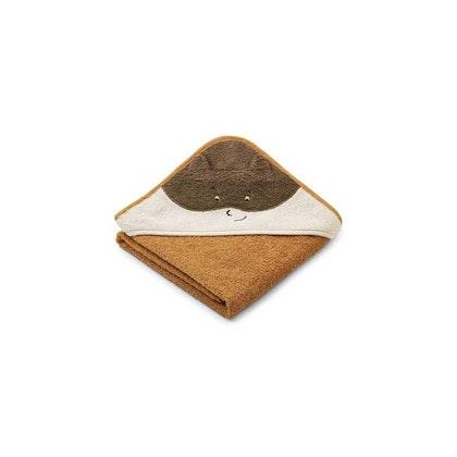 Liewood Albert Superhero/golden caramel, handduk med huva