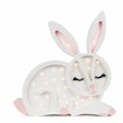 Nattlampa till barnrummet, Snövit hare, Little Lights