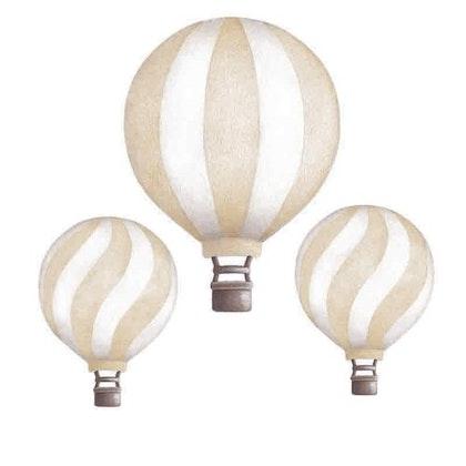 Light beige luftballonger vintage väggklistermärken, Stickstay