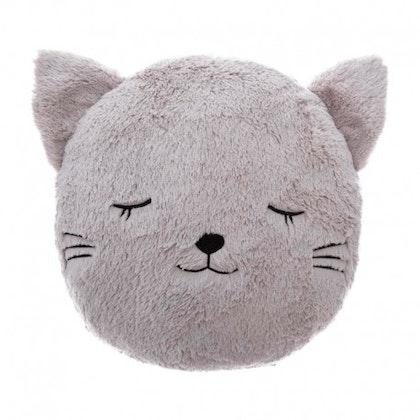Grå kudde, katt