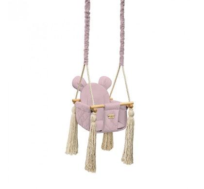 Babygunga, rosa björn
