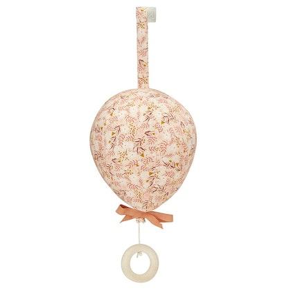 Cam Cam, musikmobil ballong med rosett, Caramel leaves