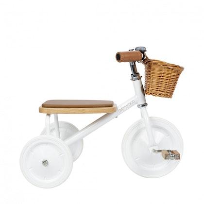 Banwood Trike -  trehjuling vit