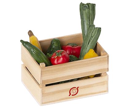 Maileg, grönsakslåda