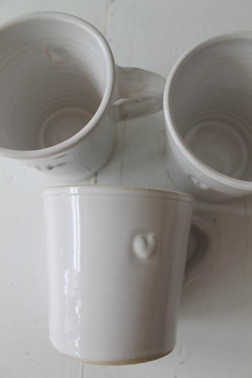 Bultande Hjärta Kaffekopp VÄSTERGÅRDEN