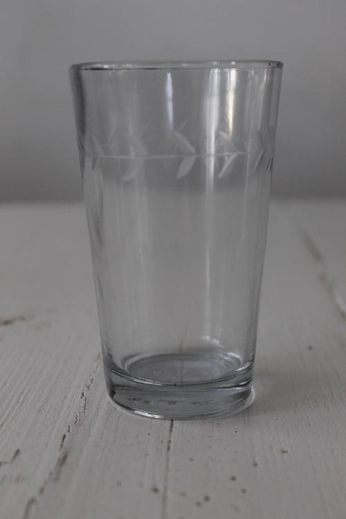Vattenglas Med Bladmönster IB LAURSEN