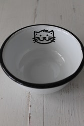 Kattskål Emalj IB LAURSEN