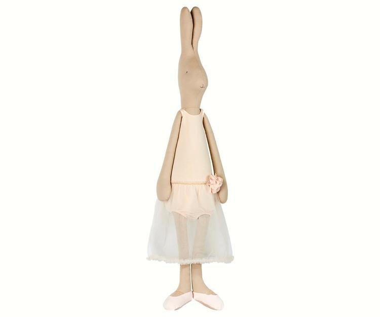 Mega Maxi Rabbit Ballerina Rose MAILEG