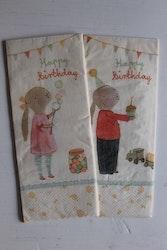 Servetter Birthday MAILEG