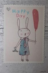 Litet Kort - Happy Day Boy MAILEG