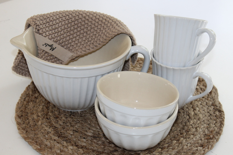 Frukostskål Mynte Phure White IB LAURSEN