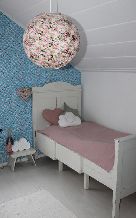 Lampskärm Blommönster Vintage SASS & BELLE