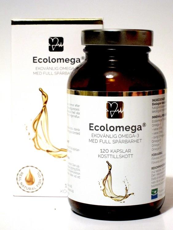 Ekolomega omega 3 120 kapslar