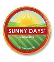 Sunny Days Mouth Drops