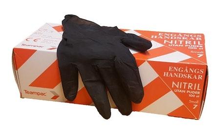 Nitril Handskar stl M (100-pack)