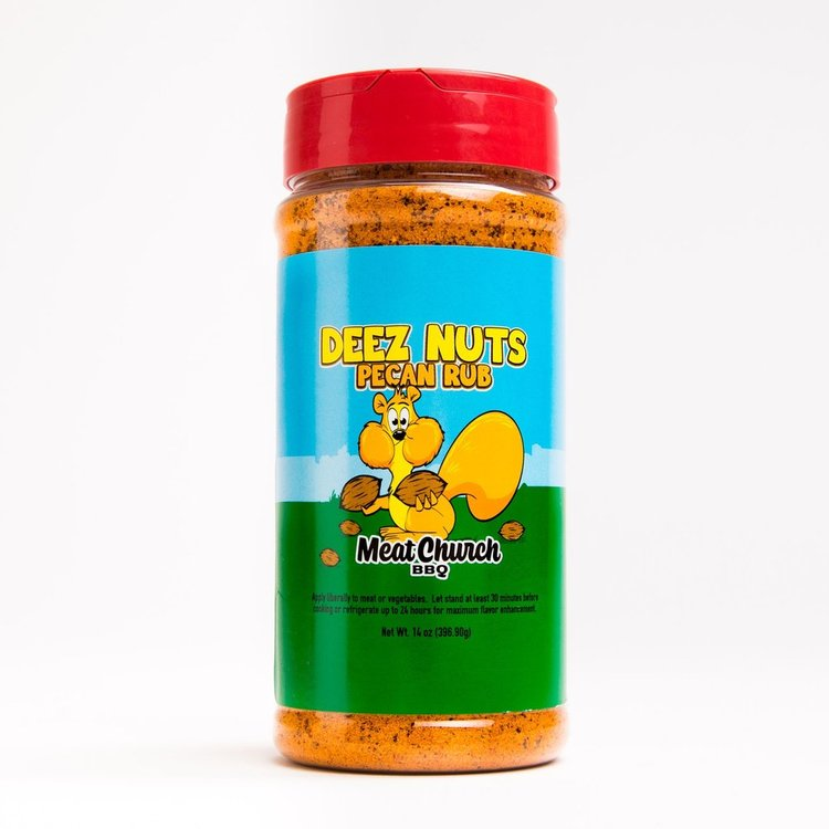 "Meat Church ""Deez Nuts Honey Pecan"" Rub"