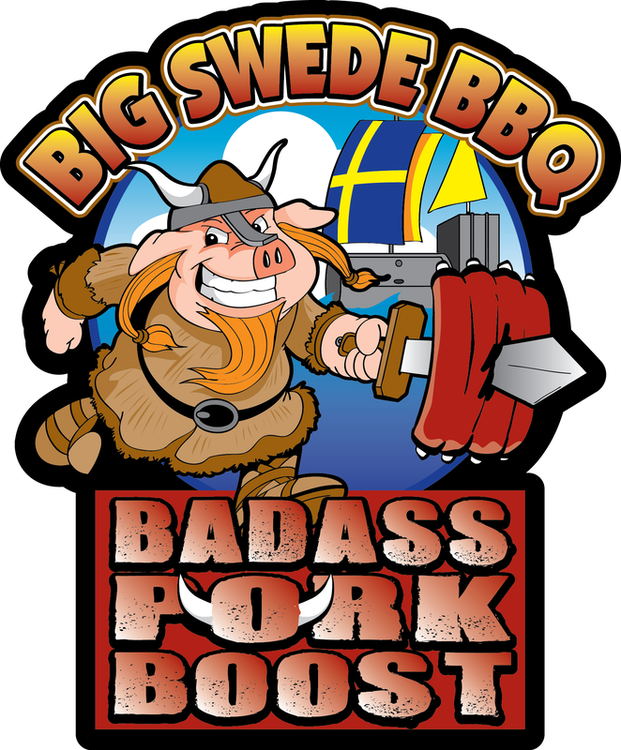 Big Swede Badass Pork Boost Rub