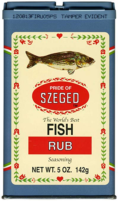 Szeged Fish Rub