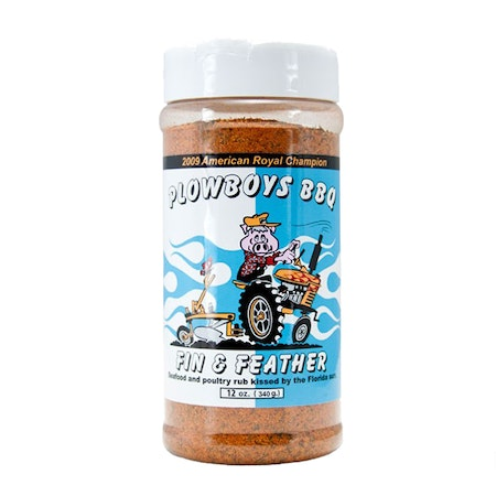 "Plowboys BBQ ""Fin & Feather"" Rub"