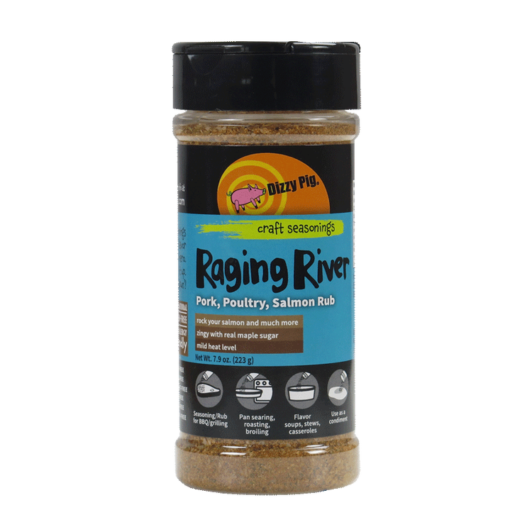 "Dizzy Pig ""Raging River""Rub"