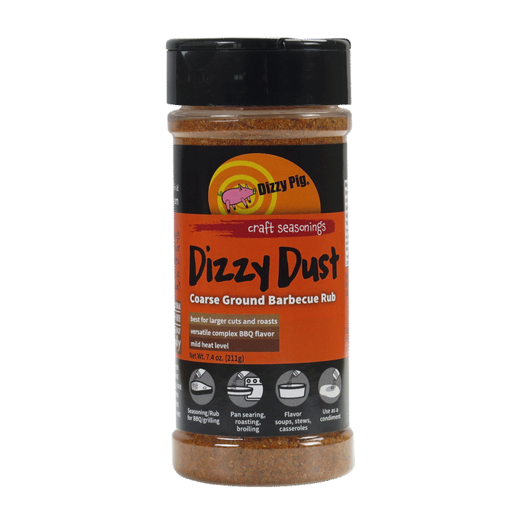 "Dizzy Pig ""Dizzy Dust Coarse"" Rub"