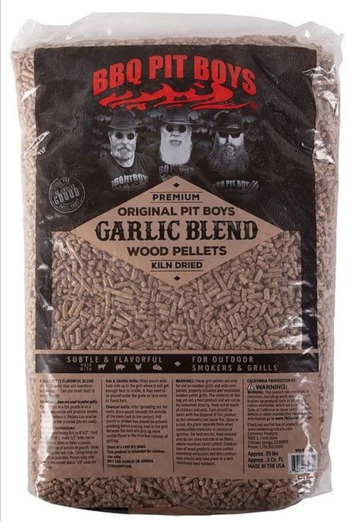 BBQ Pit Boys BBQ Pellets Garlic Blend - 9,1kg
