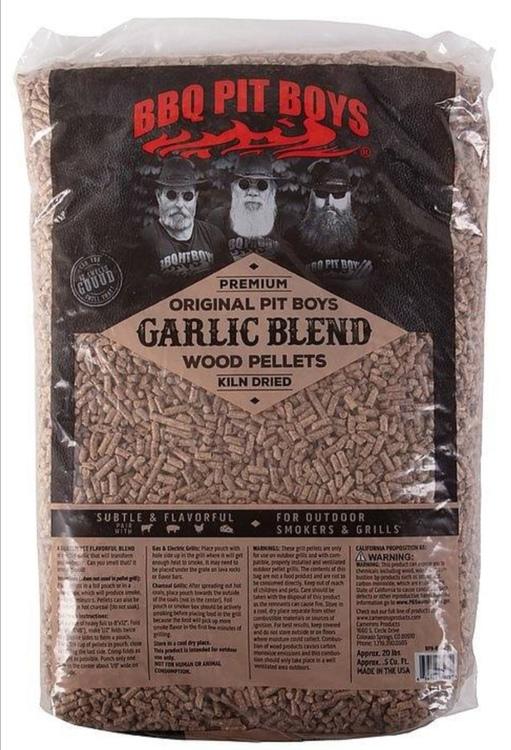 BBQ Pit Boys BBQ Pellets Garlic Blend - 9,1kg