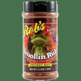 Rob's Smokin' Rub Smokey Hot