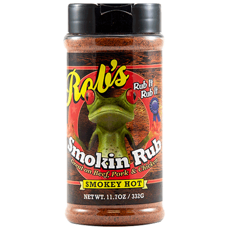 Rob's Smokin' Rub Smokey Hot