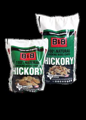 B&B Hickory Chunks 3,5 kg
